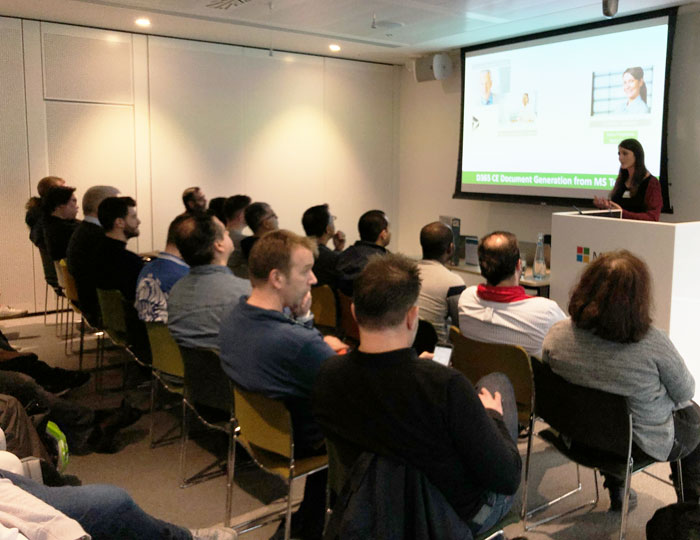 Bilder vom Dynamics 365 Power Saturday London 2020