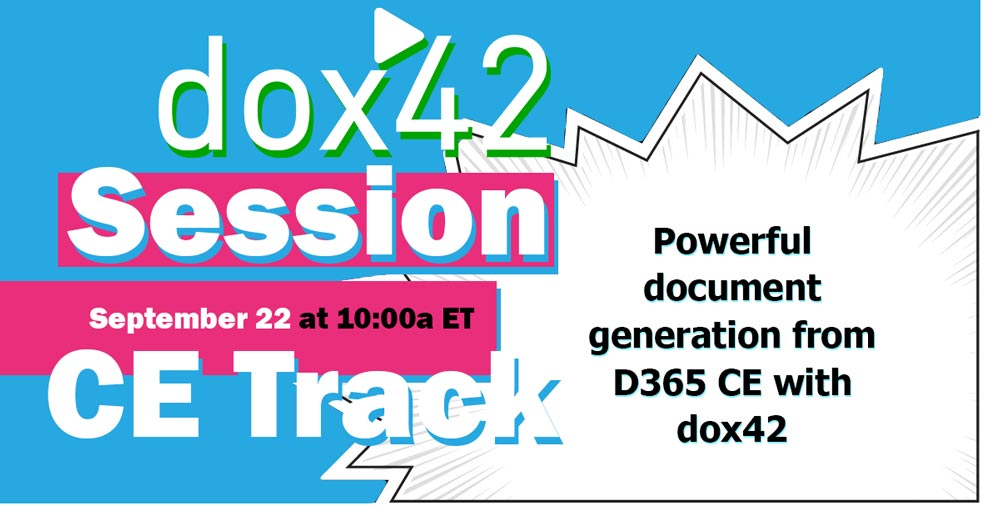 dox42 Session CE Track