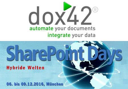 dox42 at SharePoint Days 2016