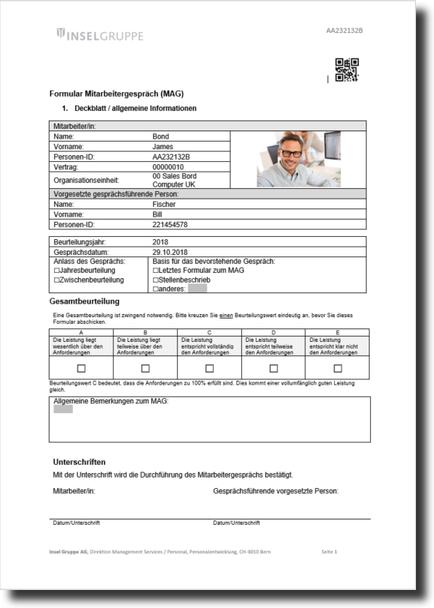 Personal Entwicklungsgesprach Mit Excel Hanseatic 9