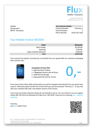 Mobile Invoices