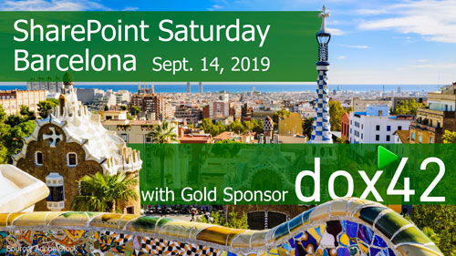 After the summertime we'll start our dox42 event Autumn in Spain at SPS Barcelona. Join us!