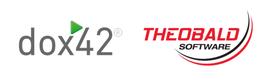 Logos dox42 Theobald Software