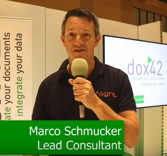 Marco Schmucker, Lead Consultant at Alight, about dox42