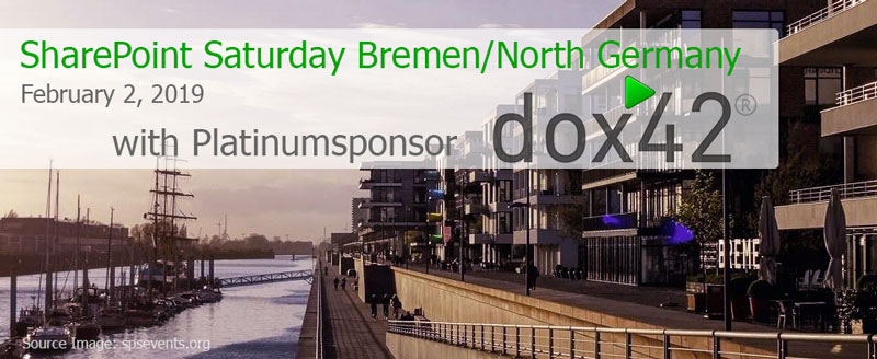 Meet dox42 at SharePoint Saturday SPS Bremen on February 2nd!