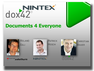 Documents for Everyone with NINTEX & dox42