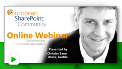 SharePoint and Document Automation
