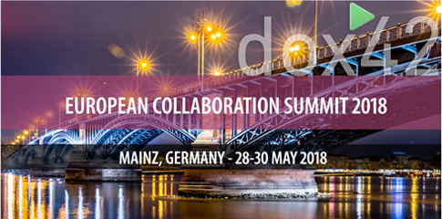 SharePoint and  Document Automation - How to generate PDFs, Presentations and Mails with one click. Treffen Sie dox42 auf der ECS 2018, 28-30. Mai!