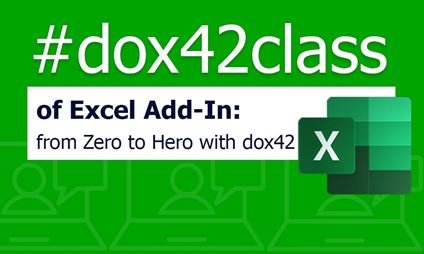 dox42class of Excel Add-In