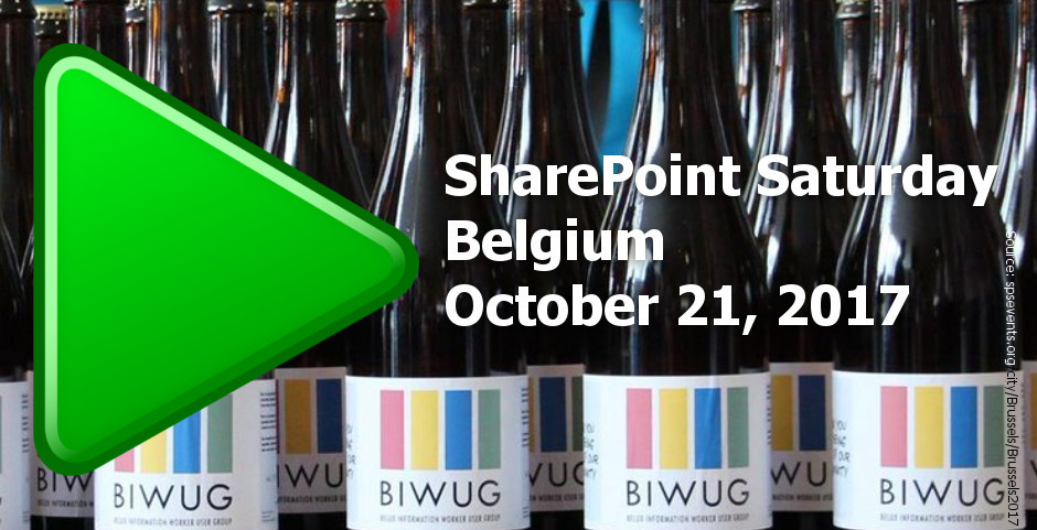 SPS Belgium is going to be fantastic. Come and meet us in Belgium!