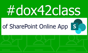 dox42class of dox42 SharePoint Online App
