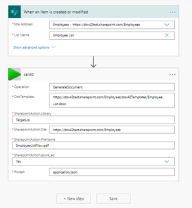 MS Power Automate Screenshot