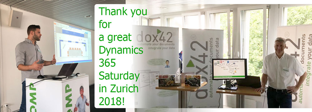 Great Dynamics 365 Saturday Zurich on this past weekend!