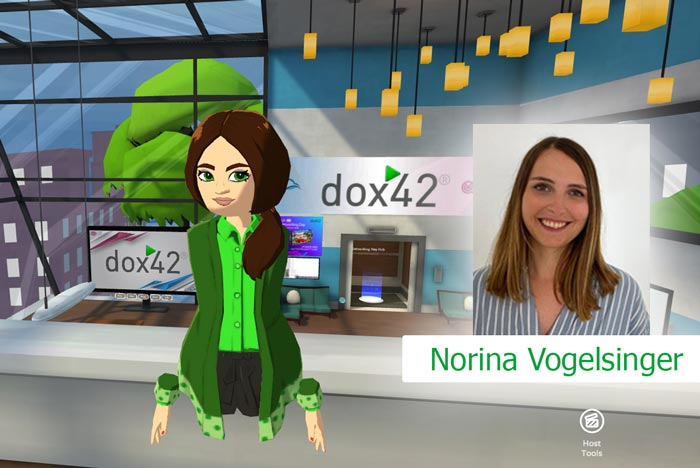 ECS Networking Day with dox42 - Norina Vogelsinger