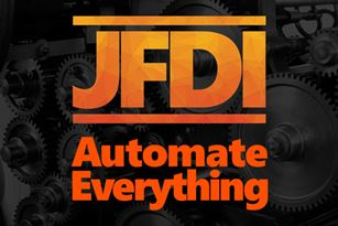 JFDI Logo and Slogan